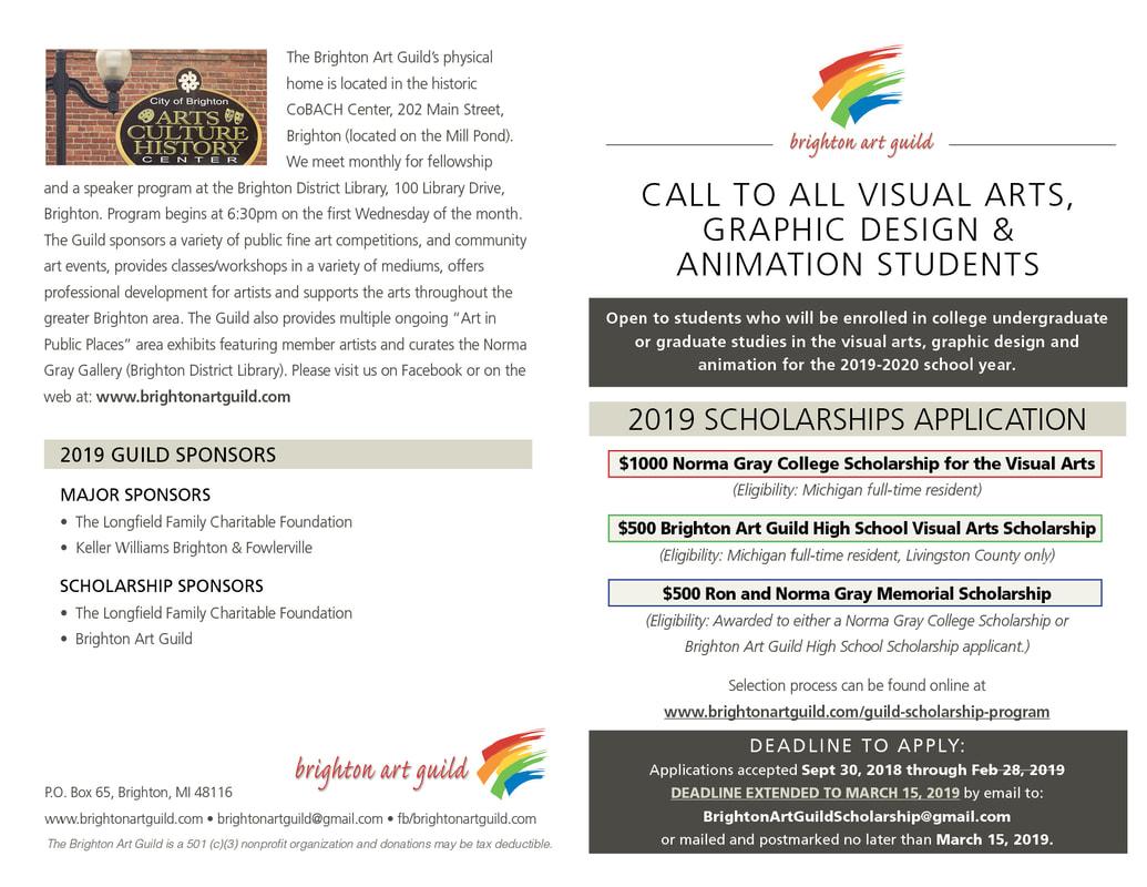 Guild Scholarship Program - Brighton Art Guild